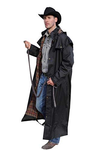 Gladstone Coat braun - Western & australischer Regenmantel Outdoor Jacke & Mantel (XL)
