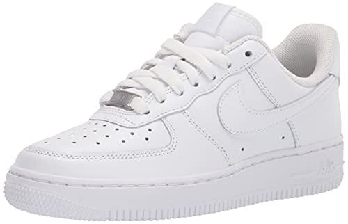 Nike Wmns Air Force 1 '07, Scarpe da Basket Donna, White/White-White-White-White-White, 39 EU