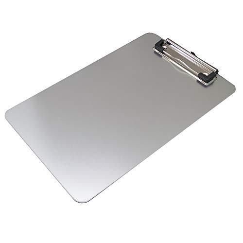 アイ・エス クリップボード A5サイズ シルバー アルミ製 ISCB-03
