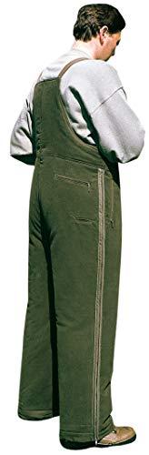 La Chasse Ansitzüberhose Überziehhose Winter Jagdhose für Extreme Kälte Jägerhose Herren Ansitzhose geräuschlos, dornenfest & waschbar Überhose (46)