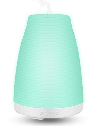 Liyalo Difusor Aroma LED Ultrasonico de Aceites Esenciales 100ml, Difu