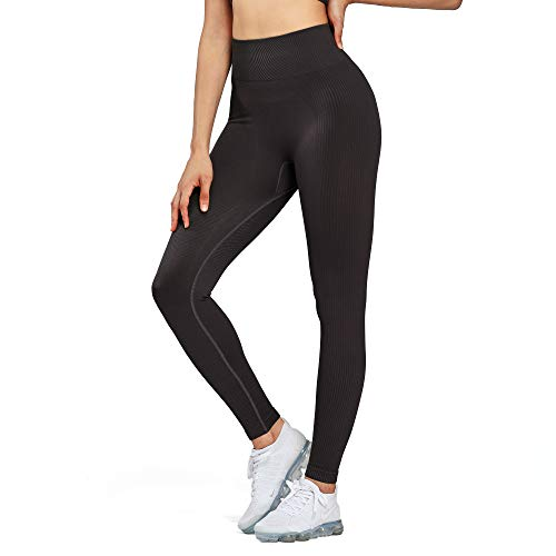 Aoxjox Yoga Pants for Women High Waisted Gym Sport Ultra Seamless Leggings