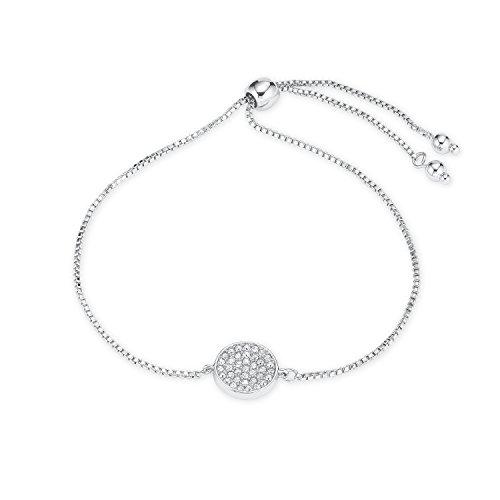 NOELANI Damen-Armband rhodiniert mit Kristallen von Swarovski
