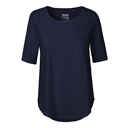 Neutral - Damen Halbarm Shirt / Navy, XXL