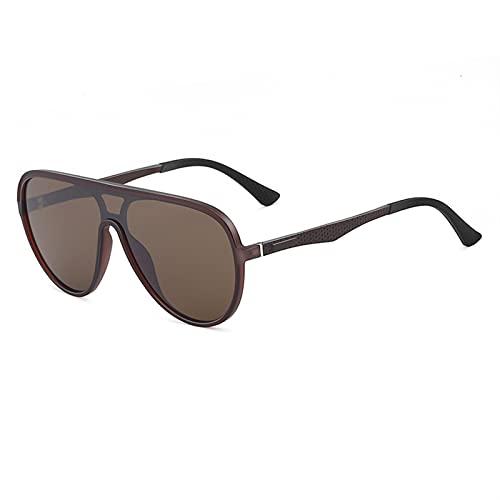 HNGM Gafas de Sol Diseño Llamativo para Conducir y Pescar Aviator de Pesca Gafas de Sol Clásicas Classic Lentes polarizadas de Alta definición Hombres Gafas para Hombres UV400 Protección