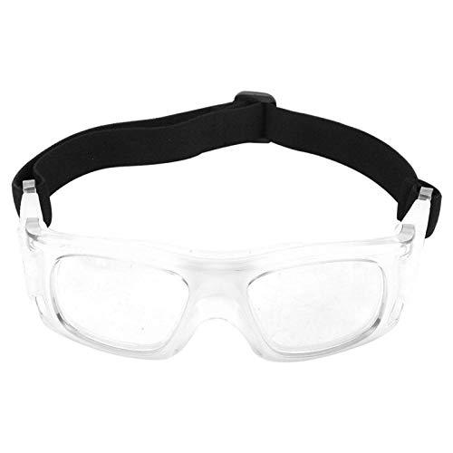 Boaby Sandsack Sportbrille Basketball Schutzbrille Professionelle Explosionsschutzbrille Outdoor Sportbrille(Weiß)