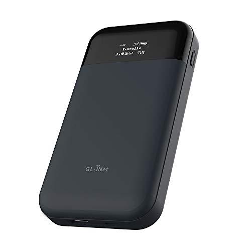 GL.iNet GL-E750(MUDI) Routeur 4G LTE OpenWrt VPN, 128GB Max MicroSD,EMEA(EP06-E Module Installé),Batterie de 7000 mAh,OpenVPN,WireGuard,Tor, Un routeur Que Vous Pouvez Programmer