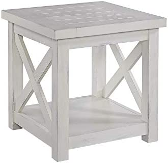 Best Seaside Lodge White End Table by Home Styles