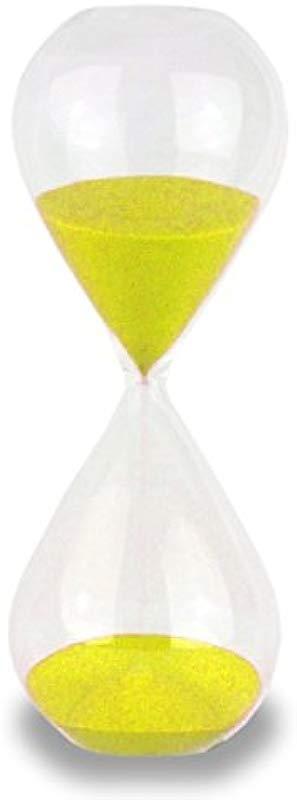 Cray Cray Supply Freestanding Yellow 60 Minute Hourglass