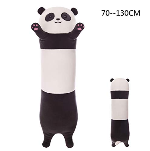"TINGTING Riesen Pandabär Kuschelbär Koala XXL 130 cm Groß Plüschbär Kuscheltier Teddybär Stofftier Pandabär Jungen Und Mädchen Weihnachten Geburtstagsgeschenk,Panda,70CM/27.5\"""
