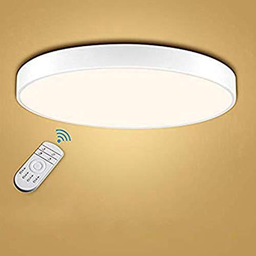 Bellanny LED Deckenleuchte, 48W 3840LM 3000-6000K Einstellbar LED Deckenlampe, Ø60cm LED Panel Deckenlampe, LED Innenleuchte lampe, für Küche Büro Arbeitszimmer Schlafzimmer Flur Balkon