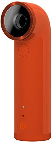 HTC RE Camera - Cámara Deportiva (1920 x 1080 Pixeles, CMOS, 16 MP, 1/0,0906 mm (1/2.3'), Micro-USB, MicroSD (TransFlash)) Naranja