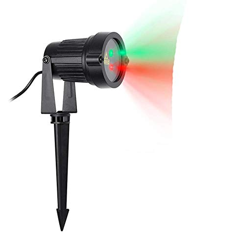 ZHD&CC Christmas Laser Lights, Outdoor Waterproof Landscape Decorative Lighting for Xmas Holiday Party Wedding Garden Patio