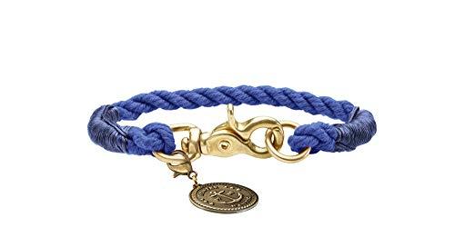 HUNTER Collare List, 40 corda, blu scuro