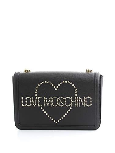Luxe Mode | Liefde Moschino Womens JC4069PP18LL100A Zwarte Schoudertas | Herfst-Winter 19