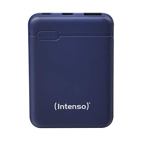 Intenso Powerbank XS 5000, externes Ladegerät (5000mAh, geeignet für Smartphone/Tablet PC/MP3 Player/Digitalkamera) Blau