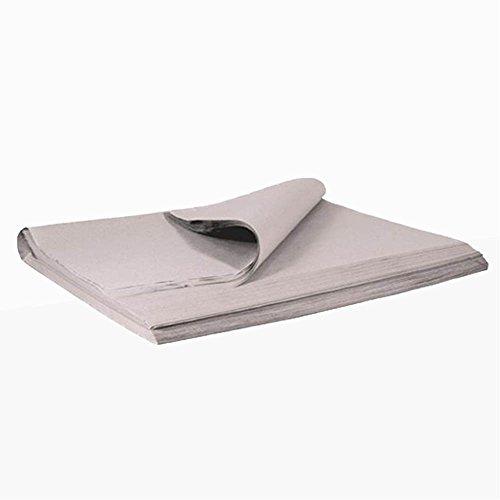 verpacking 3 kg Packseide Seidenpapier Packpapier Polsterpapier grau, 50x75cm