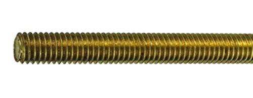 Connex DY250709 Gewindestange M8 x 1000 mm, Messing, gefertigt nach DIN 975