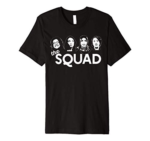 THE SQUAD Tlaib Ocasio-Cortez Omar Pressley WOC AOC Meme Premium T-Shirt
