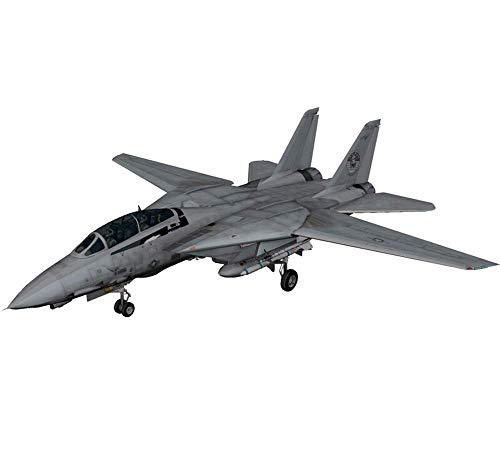 Modelo Puzzle de plástico aviones militares, juguetes 1/72 F-14D, Tomcat Fighter infantil, bricolaje, juguetes y regalos, con la herramienta de instalación Jzx-n