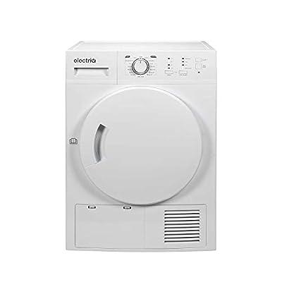 electriQ 8kg Freestanding Condenser Tumble Dryer - White