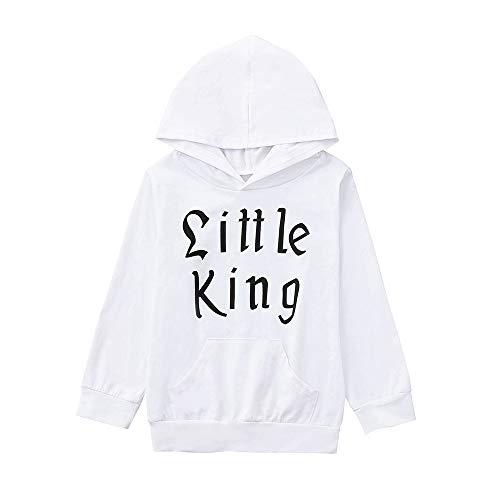 Hawkimin_Babybekleidung Hawkimin Baby Junge Kapuzenpullover Brief Hoodie Tops Sweatshirt Mantel Oberbekleidung Outfits