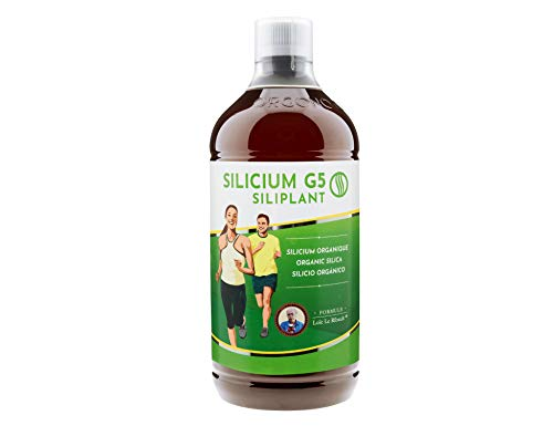 SILIPLANT | Trinkbares organisches Silizium | Erhöht die Kollagenproduktion auf natürliche Weise | Ideale Ergänzung für Haut, Haare & Nägel, Muskeln, Knochen und Gelenke | 67 Tage Behandlung