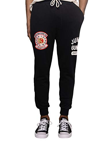 Roots of Fight Officially Licensed Men's Bruce Lee Script Sweatpants, Size XX-Large