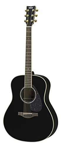 Yamaha L-Series LL6 Acoustic-Electric Guitar - Roswewood, Black