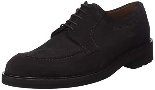 Lottusse L6823, Zapatos de Cordones Derby para Hombre, Marrón (Buckster Moka Buckster Moka), 45 EU