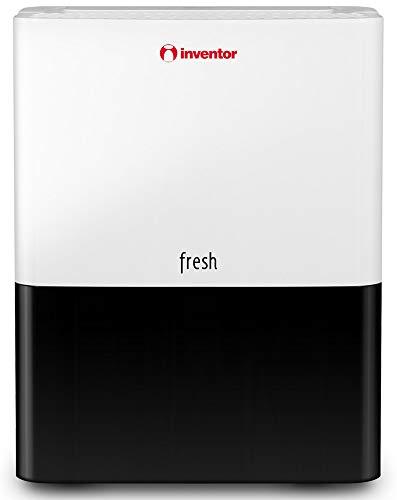 Inventor Fresh 10L/24h, Deshumidificador de Compresor con Refrigerante R290 - Deshumidificación Continua y Silenciosa y Panel de Control Digital