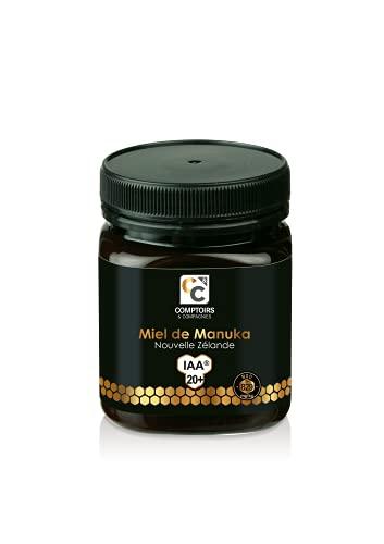 Comptoirs et Compagnies | Miel de Manuka Actif | IAA20+ (MGO829+) | 250 Grammes