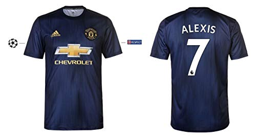 Manchester United Trikot Kinder 2018-2019 Third UCL - Alexis 7 (128)