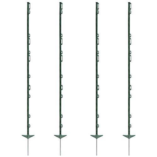 """VOSS.farming 40 pz. Pali Farm 156"""", per recinzioni elettriche, con 11 Occhielli,..."""
