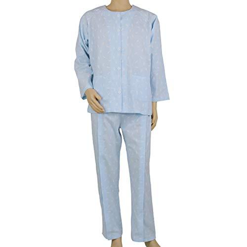 Paralysis Nursing kleding dun katoen Easy-Drage gehandicapte oudere pyjama's Nursing kleding