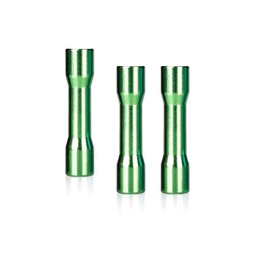 10pcs M3x6x25mm colorido redondo de aleación de aluminio Standoff espaciador Columna superficie lisa para FPV RC Toys Verde
