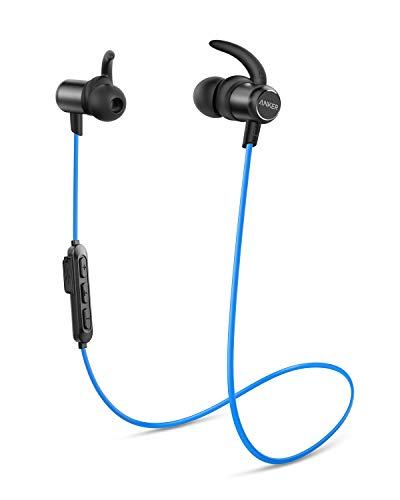 Anker Soundbuds Slim Bluetooth Kopfhörer, Upgraded Kabellose In-Ear Kopfhörer mit 10 Stunden Akkulaufzeit, IPX7 Wasserschutzklasse, Bluetooth 5.0 und Erstklassiger Sound