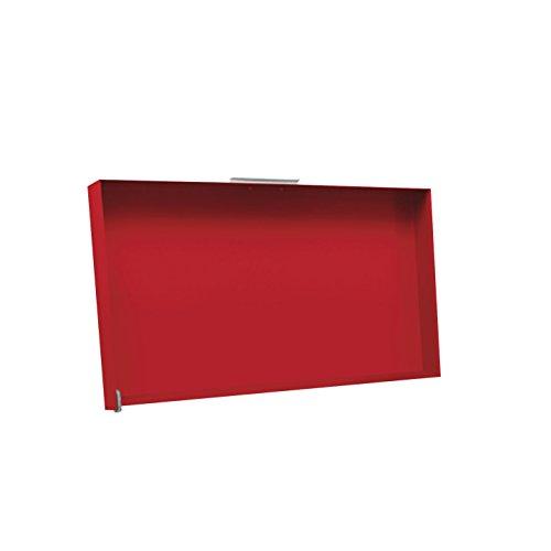 Simogas Rouge Funda Protectora y Anti-Salpicaduras 70 cm. 70-r de Gas o eléctrico Rainbow Rojo, roja