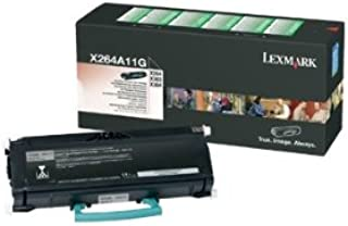 Lexmark X264A11G Return Program Black Toner Cartridge