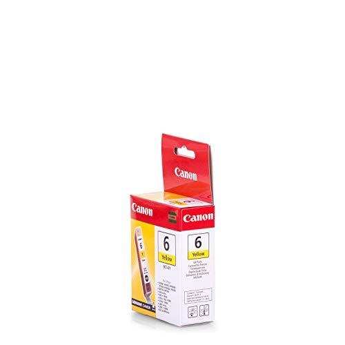 Original de tinta compatible con Canon Pixma MP 760Canon bci6y, BCI-6Y 4708A002, 4708A002AA, 4708A002AB–PREMIUM Impresora de tinta–Amarillo–210Páginas–13ml