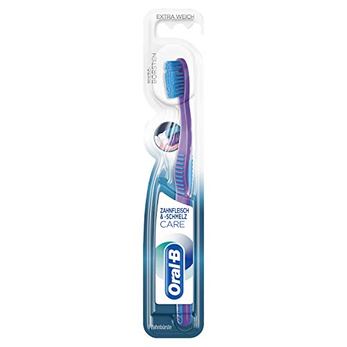 Oral-B Zahnfleisch und -schmelz Care Handzahnbürste extra weich, farblich sortiert, 12er Pack