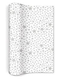 PAER + DESIGN tafelloper vlies 4mx25cm, sterren zilver