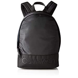 3124zUB1jHL. SS300  - Calvin Klein - Shadow Round Backpack, Mochilas Hombre, Negro (Black), 15x42x30 cm (B x H T)