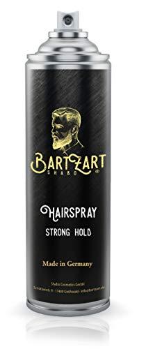 BartZart 400ml Haarspray für Männer I Barber Haarspray mit starkem Halt für mehr Textur & Volumen im Haar I mattes Finish I Haarstyling Männer I Hairspray men