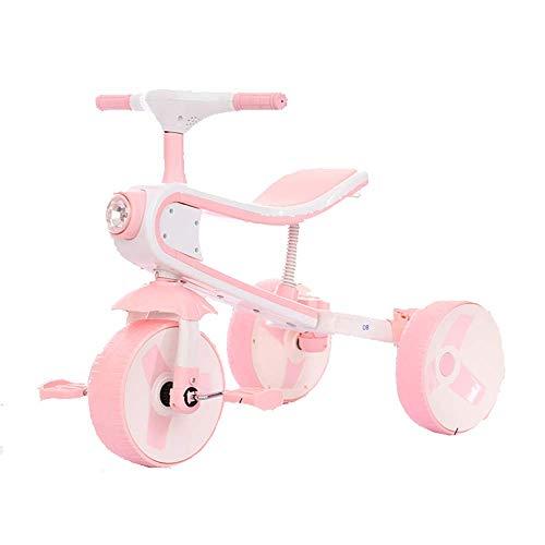QHWJ Equilibrio para niños Scooter, No Pedal Slider Ligero 2 en 1 Bicicleta y Triciclo para Early Rider, Entrenamiento de Balance para Correr Regalos de cumpleaños para niños y niñas