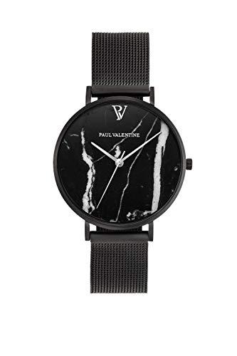 PAUL VALENTINE ® Damenuhr mit Mesh Armband - 32, 36 oder 38mm...