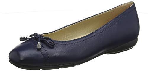 Geox Damen D ANNYTAH D Geschlossene Ballerinas, Blau (Blue C4000), 41 EU