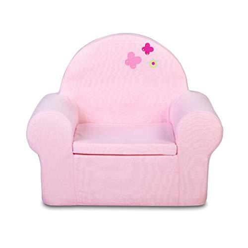 Fauteuil pour Enfant Meubles pour BéBé BéBé Petit Canapé Infant Mignon Coton Canapé Chaise d'enfant Amovible Et Lavable Assise Confortable, L54 × W34 × H55cm