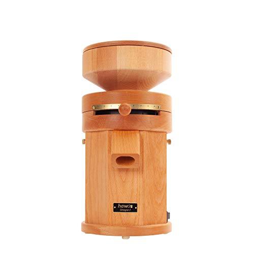 hawos Oktagon 1 Elektrische Getreidemühle aus Buche Vollholz mit 360W Leistung der Firma hawos Kornmühlen GmbH