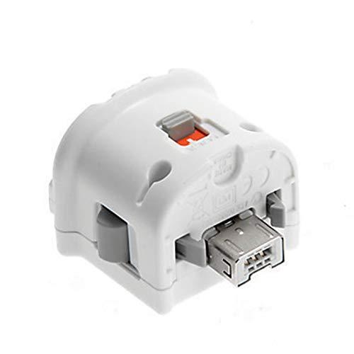 High Quality Motion Plus Adapter-Sensor für Nintend Wii-Konsole Remote-Wireless-Controller Wiimote Black & White
